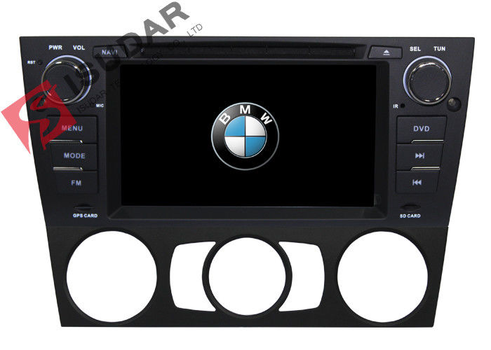 Support Digital TV Double Din Dvd Gps Car Stereo , BMW E92 Sat Nav For Manual Air Condition